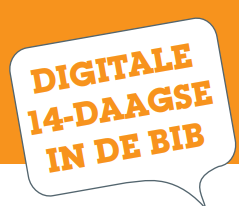 Digitale 14-daagse in de bib
